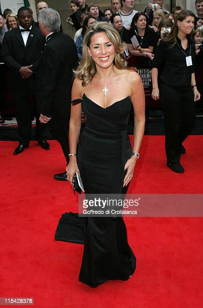 Claire Sweeney during The 2006 British Academy Television Awards Arrivals at Grosvenor House Hotel in London Great Britain