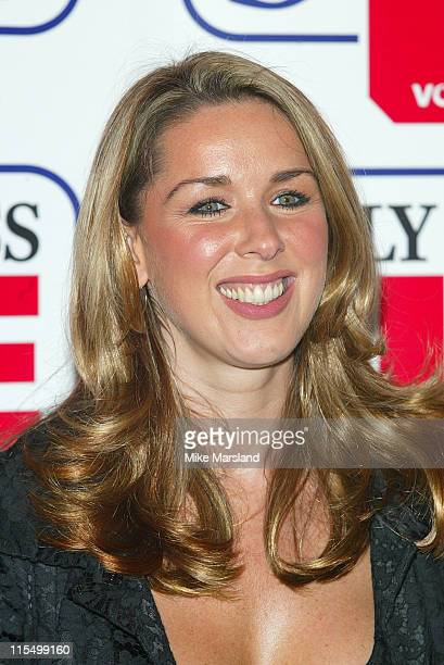 Claire Sweeney during The Daily Express Life Savers Awards at The Savoy Hotel in London Great Britain