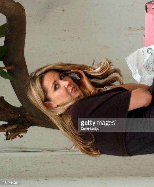 Claire Sweeney enjoys lunch at The Ivy before spending the rest of her afternoon shopping around the trendy shops in Covent Garden But even the TV...