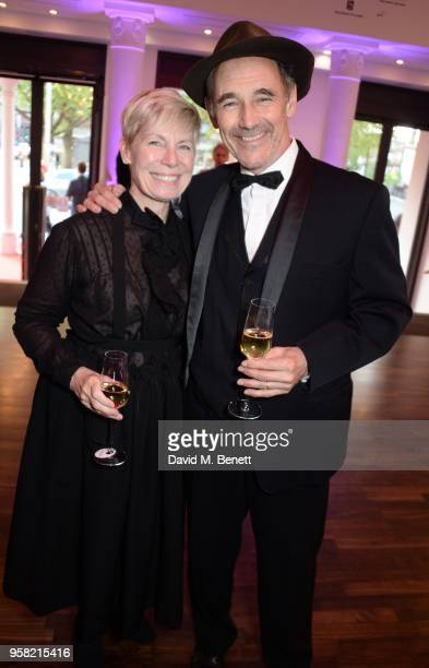 Claire van Kampen and Sir Mark Rylance attend The Old Vic Bicentenary Ball to celebrate the theatre's 200th birthday at The Old Vic Theatre on May...