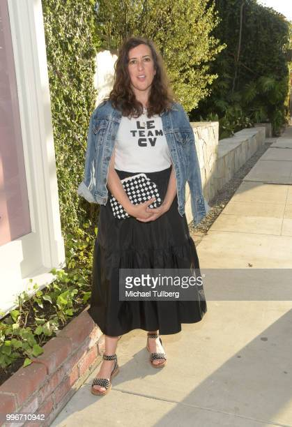 Claire Vivier attends the Beats By Dre for Violet Gray party on July 11 2018 in West Hollywood California