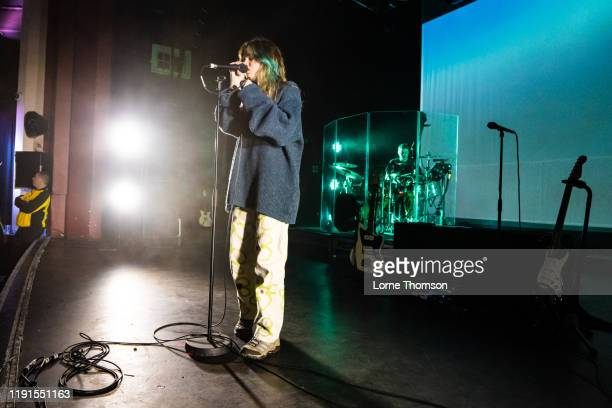 Clairo performs at O2 Shepherd's Bush Empire on December 02 2019 in London England