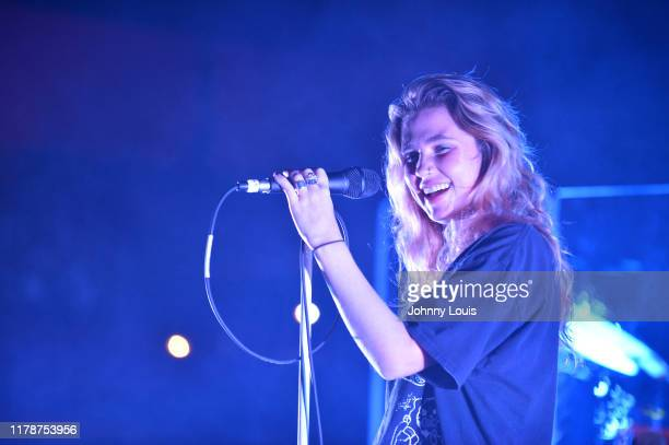 Clairo performs on stage during her Immunity Tour at Revolution Live on October 28 2019 in Fort Lauderdale Florida