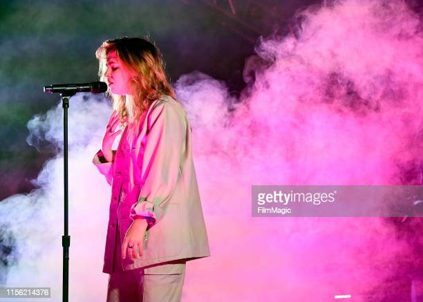 Clairo performs onstage at This Tent during the 2019 Bonnaroo Arts And Music Festival on June 15 2019 in Manchester Tennessee