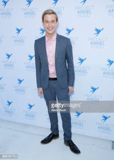 Clairvoyant Tyler Henry attends Project Angel Food's 2017 Angel Awards on August 19 2017 in Los Angeles California