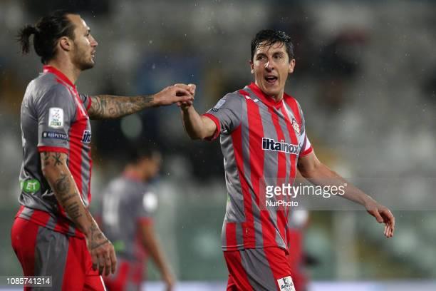 Claiton Dos Santos MUS Cremonese during the Italian Serie B 2018/2019 match between Pescara Calcio 1936 FC and US Cremonese at Stadio Adriatico...