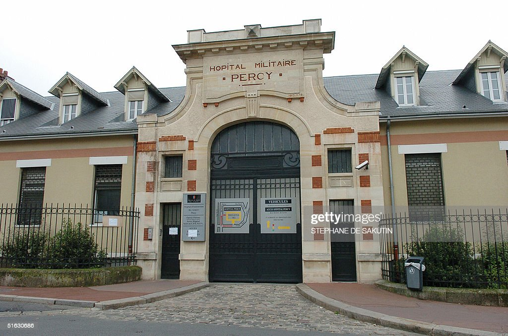 Photo of the entrance of the French mili : News Photo