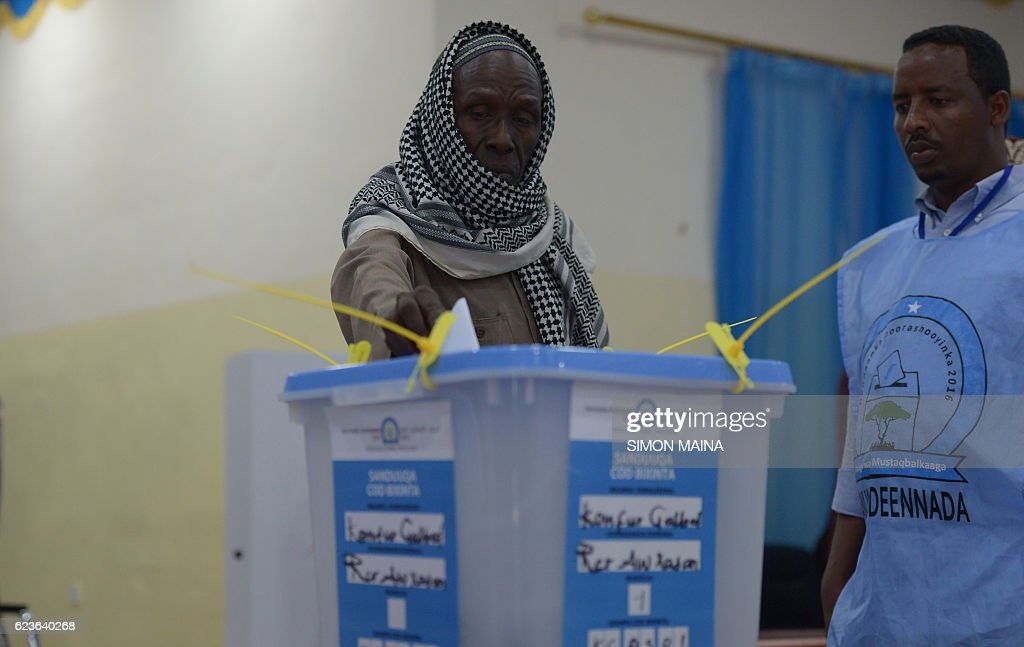 SOMALIA-UNREST-POLITICS-VOTE : News Photo