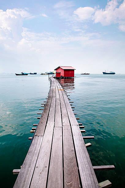 Clan jetty boardwalk, Penang