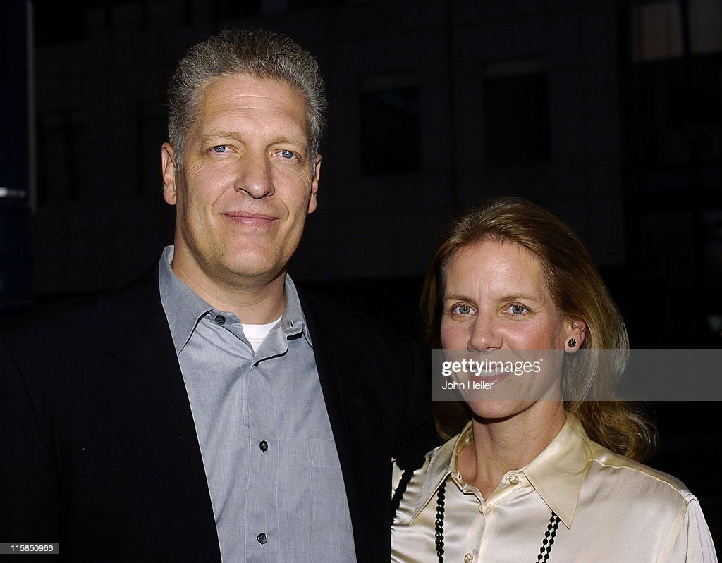 Clancy Brown and his wife during 10th Anniversary Screening of 'The Shawshank Redemption' - September 23, 2004 at Academy of Motion Picture Arts and Sciences in Beverly Hills, CA, United States.