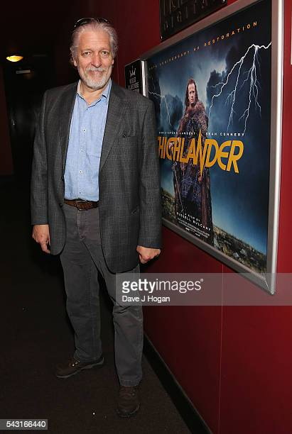 Clancy Brown attends a special screening of the recently restored 'Highlander' film at Prince Charles Cinema on June 26 2016 in London England
