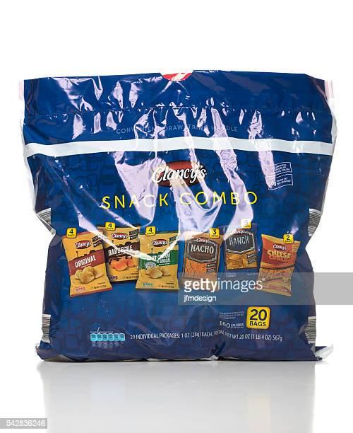 Clancy's snack combo bag
