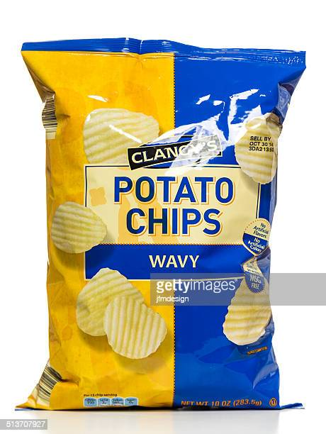 Clancy's Wavy Potato Chips bag