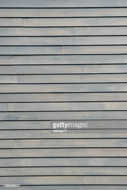 Clapboard House Siding in Gray