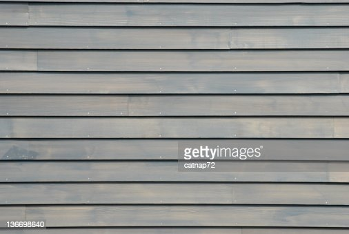 Clapboard House Siding In New Gray Background Design
