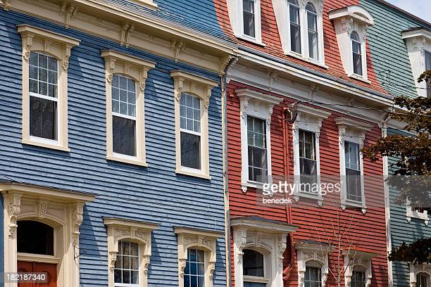 Clapboard Houses Saint John New Brunswick Canada