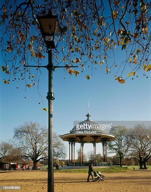 Clapham Common Bandstand Restoration London United Kingdom Architect Dannatt Johnson Architects Clapham Common Bandstand Restoration Lamp Post...