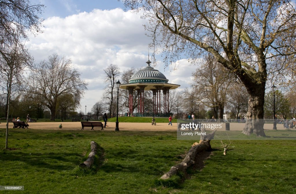 Clapham Common. : Bildbanksbilder