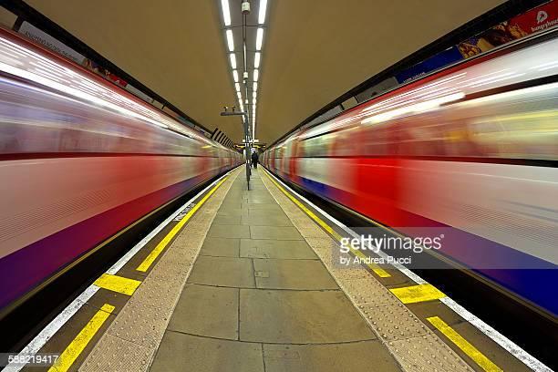 Clapham North Underground Station, London, UK