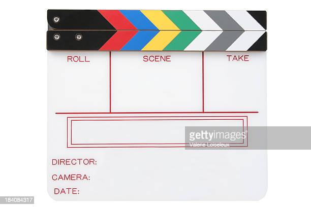 clapperboard - clapboard stock pictures, royalty-free photos & images