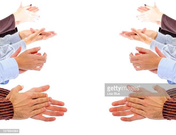 Bater Palmas Hands.Copyspace.