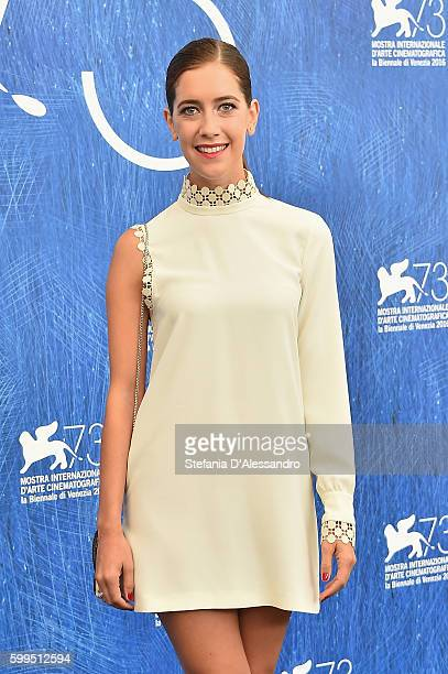 Clara Alonso attends a photocall for 'Piuma' during the 73rd Venice Film Festival at Palazzo del Casino on September 5 2016 in Venice Italy