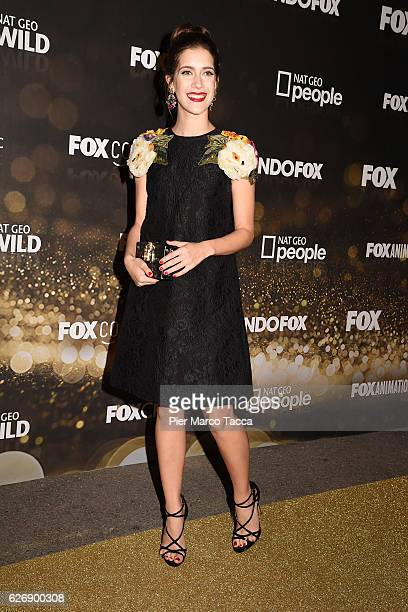 Clara Alonso attends Fox Tv schedule presentation on November 30 2016 in Milan Italy