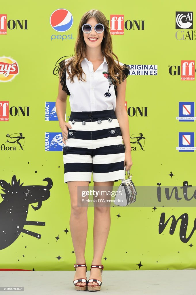 Clara Alonso attends Giffoni Film Festival 2017 Day 3 Photocall on July 16, 2017 in Giffoni Valle Piana, Italy.