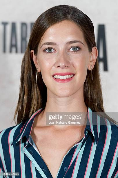 Clara Alonso attends 'Tarde Para La Ira' premiere at Capitol Cinema on September 8 2016 in Madrid Spain