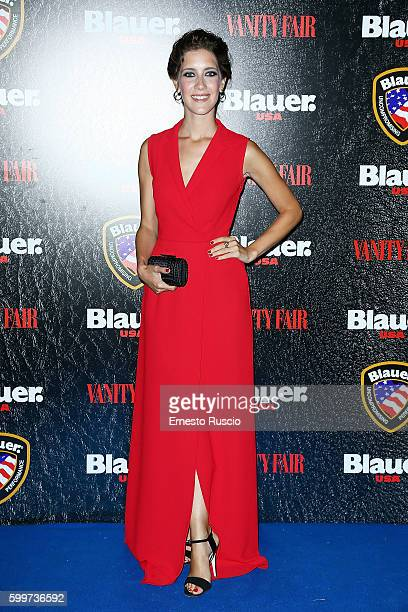 Clara Alonso attends the Cinema Under The Skin' Party hosted by Blauer and Vanity Fair during the 73rd Venice Film Festival at on September 6 2016 in...