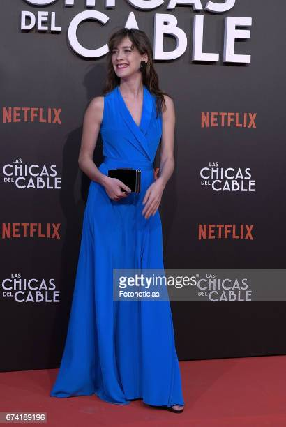 Clara Alonso attends the 'Las Chicas del Cable' Netflix Tv Series premiere at Callao Cinema on April 27 2017 in Madrid Spain