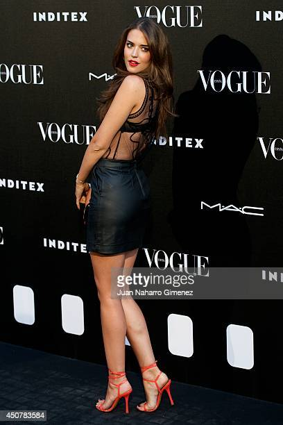 Clara Alonso attends 'Vogue Who's On Next' party at Embassy of Italy on June 17 2014 in Madrid Spain