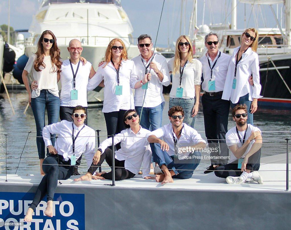 Celebrities Attend Pret-A-Portals In Mallorca