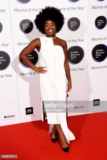 Clara Amfo arrives at the Hyundai Mercury Prize 2017 at Eventim Apollo on September 14 2017 in London England