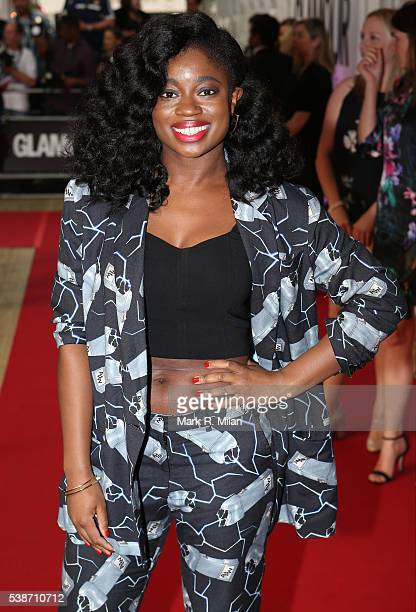 Clara Amfo attending the Glamour Women of the Year Awards on June 7 2016 in London England