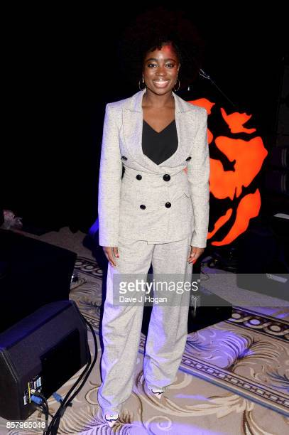 Clara Amfo attends the Amy Winehouse Foundation Gala at The Dorchester on October 5 2017 in London England