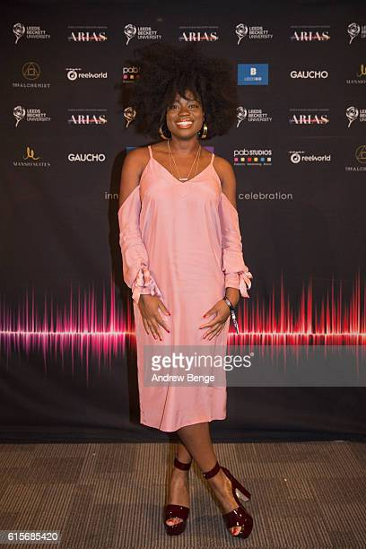 Clara Amfo attends the Audio Radio Industry Awards at First Direct Arena Leeds on October 19 2016 in Leeds England