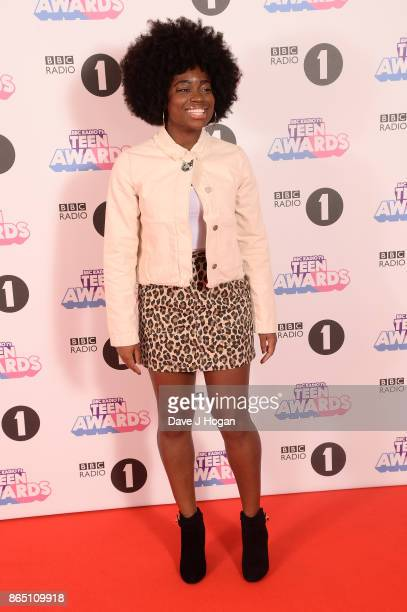 Clara Amfo attends the BBC Radio 1 Teen Awards 2017 at Wembley Arena on October 22 2017 in London England