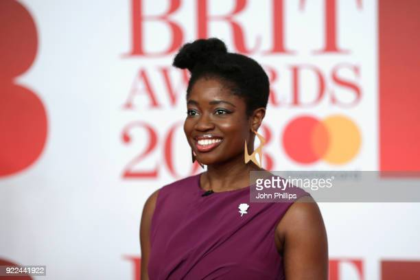 AWARDS 2018*** Clara Amfo attends The BRIT Awards 2018 held at The O2 Arena on February 21 2018 in London England