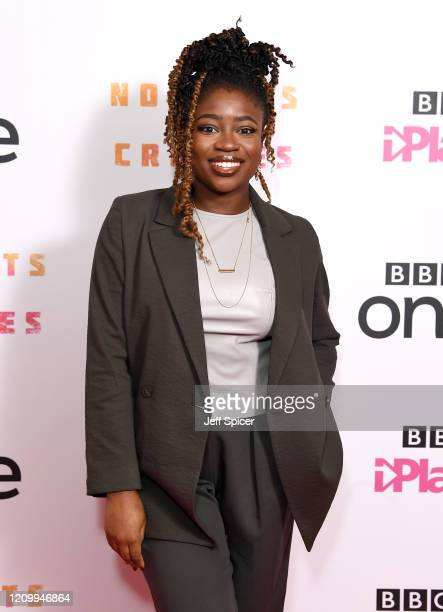 Clara Amfo attends the Noughts and Crosses UK Premiere at the Ritzy Picturehouse on March 02 2020 in London England
