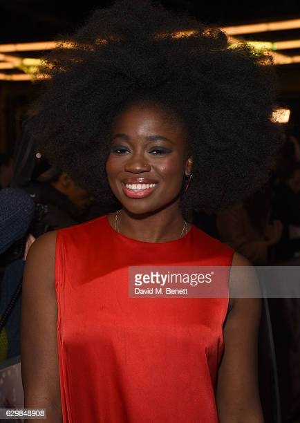 Clara Amfo attends the press night performance of 'Dreamgirls' at The Savoy Theatre on December 14 2016 in London England