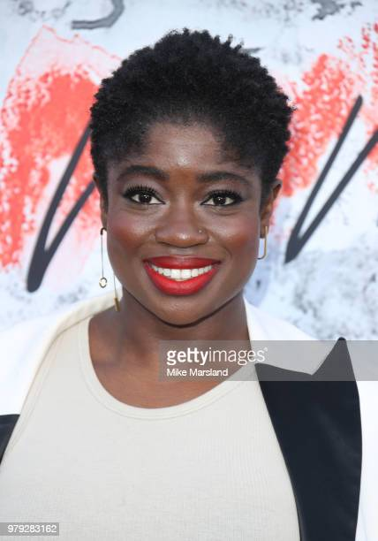 Clara Amfo attends The Serpentine Summer Party at The Serpentine Gallery on June 19 2018 in London England