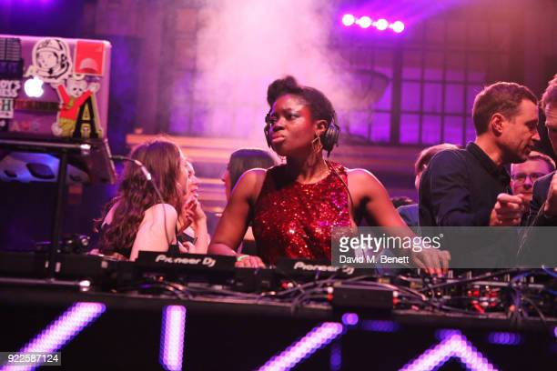 Clara Amfo attends the Universal Music BRIT Awards AfterParty 2018 hosted by Soho House and Bacardi at The Ned on February 21 2018 in London England