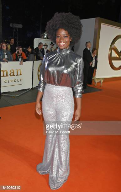 Clara Amfo attends the World Premiere of 'Kingsman The Golden Circle' at Odeon Leicester Square on September 18 2017 in London England
