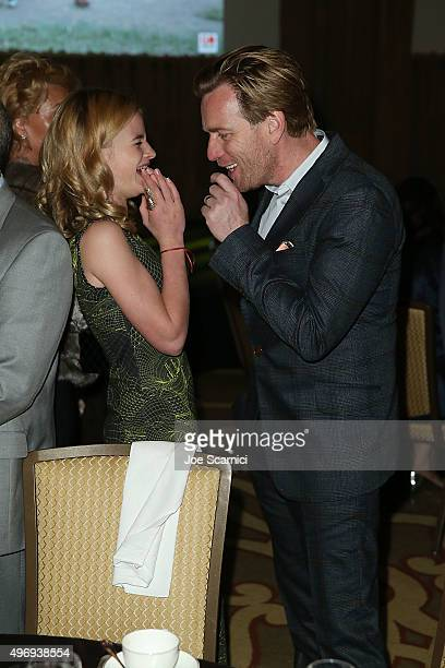 Clara and Ewan McGregor attend the 8th Annual GO Campaign Gala at Montage Beverly Hills on November 12 2015 in Beverly Hills California