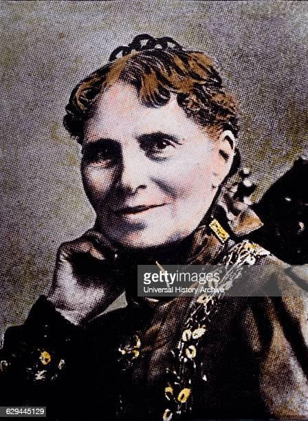 Clara Barton American Humanitarian Founder of American Red Cross Portrait 1902