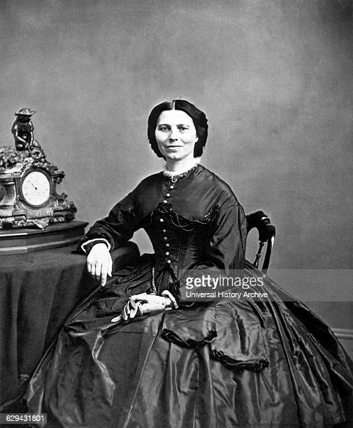 Clara Barton American Humanitarian Organizer of the American Red Cross 1866