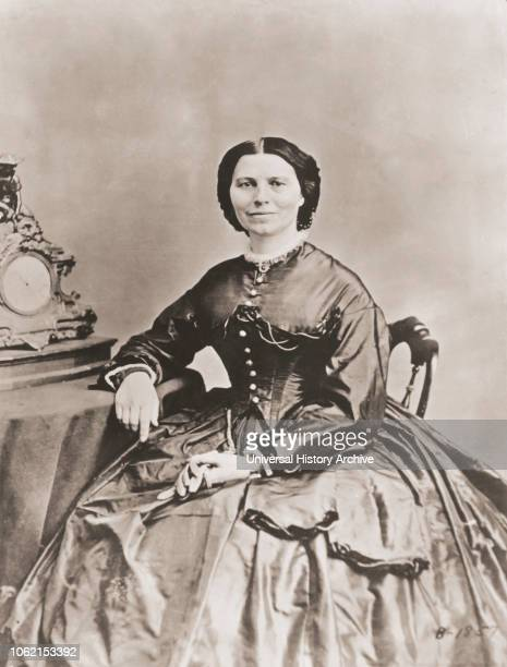 Clara Barton Full name Clarissa Harlowe Barton 18211912 American born nurse who founded the American Red Cross