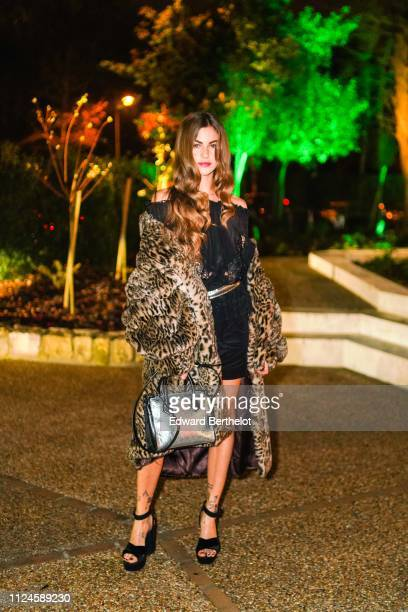 Clara Berry attends 17th 'Diner De La Mode' To Benefit Sidaction At Pavillon d'Armenonville as part of Paris Fashion Week on on January 24 2019 in...