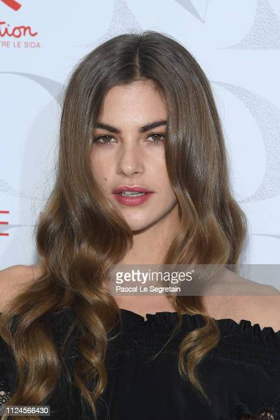 Clara Berry attends the 17th Diner De La Mode as part of Paris Fashion Week on January 24 2019 in Paris France